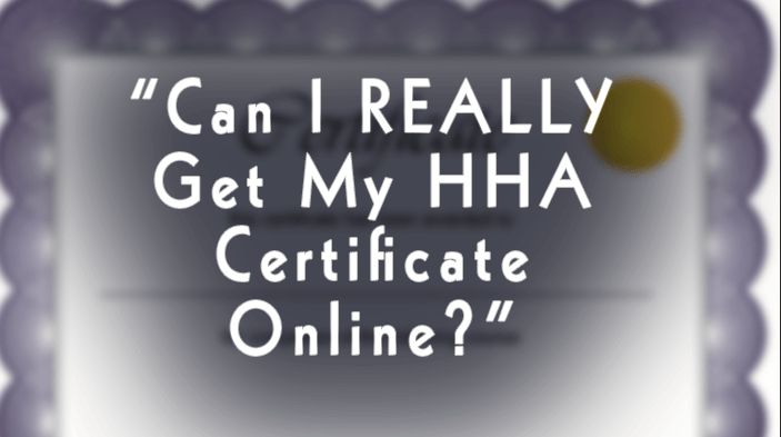 HHA Course: Curriculum and Certification